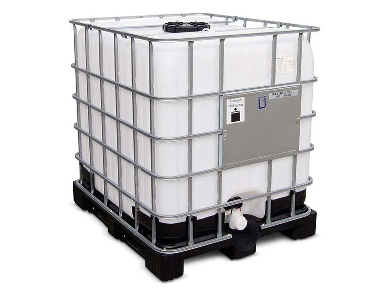 IBC-tank för regnvatten